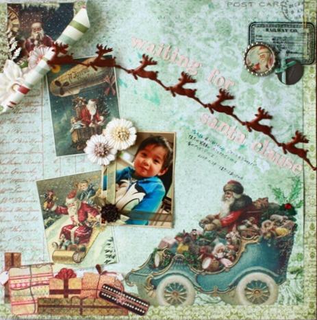 waiting for santa clause-DEC①