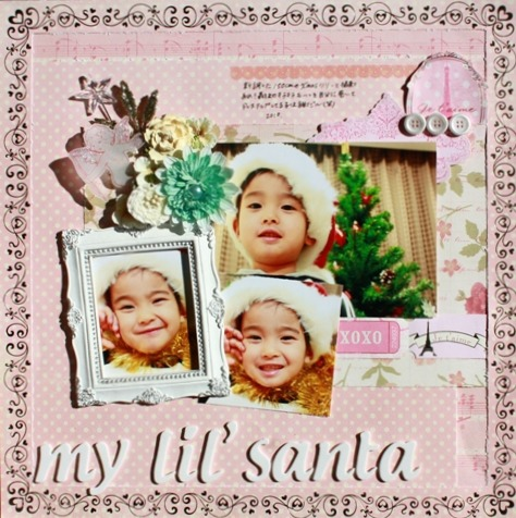 my lil' santa-FEB②